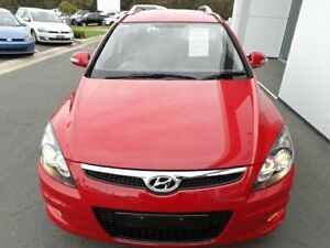 2011 Hyundai i30 FD MY12 CW SX 2.0 Red 4 Speed Automatic Wagon Port Macquarie Port Macquarie City Preview