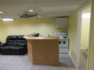 BEAUTIFUL, BRIGHT & SPACIOUS basement rooms for rent W/ SIDE ENT