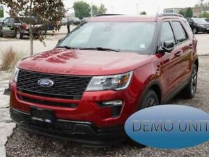 2018 Ford Explorer SPORT | 2ND ROW CAPTAIN'S CHAIRS | 2 PANEL MO