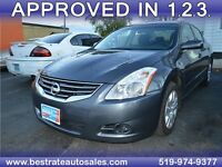 2012 Nissan Altima 2.5 S, $43/Week OR $187/Month, GET ZERO DOWN!