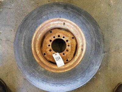 9.5l X 14 Flotation Tire On 6 Lug Implement Rim Tag 094