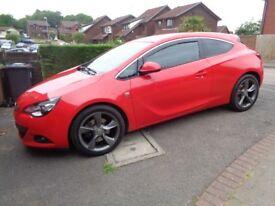 2013 (62) Vauxhall Astra GTC 2.0 Cdti 16V Sri 3Dr Coupe (SS) - FSH, 2 Keys, Parking Sensors