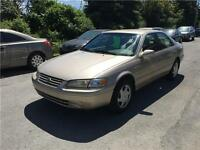 1997 Toyota Camry 74732 KM, Safety & ETEST for ON or QC INCL
