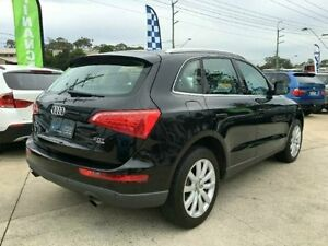 2010 Audi Q5 8R MY10 TFSI S TRONIC QUATTR Black 7 SPEED Semi Auto Wagon Southport Gold Coast City Preview