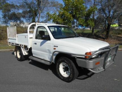 2000 Ford Courier PE GL White 5 Speed Manual Cab Chassis Underwood Logan Area Preview