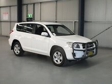 2011 Toyota RAV4 GSA33R 08 Upgrade CV6 Glacier White 5 Speed Automatic Wagon Dubbo 2830 Dubbo Area Preview