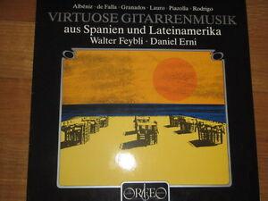 a1 vinyl LP WALTER FEYBLI DANIEL ERNI VIRTUOSE GUITARREN MUSIK AUS SPANIEN UND L - Italia - a1 vinyl LP WALTER FEYBLI DANIEL ERNI VIRTUOSE GUITARREN MUSIK AUS SPANIEN UND L - Italia