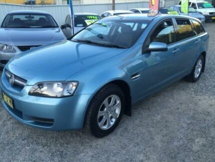 2009 Holden Commodore VE MY09.5 Omega Blue 4 Speed Automatic Sportswagon Jewells Lake Macquarie Area Preview