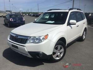 2009 Subaru Forester , AWD 4X4 , BAS MILLAGE , Toit ouvrant