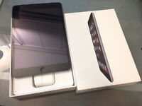 APPLE iPad mini 2 16gb black (Warranty Feb. 2016, perfect cond.)