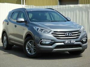 2017 Hyundai Santa Fe DM4 MY18 Active Grey 6 Speed Sports Automatic Wagon Sunbury Hume Area Preview