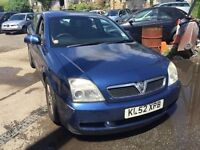 2002 Vauxhall Vectra, starts and drives well, MOT until 16th August, car located in Gravesend Kent,