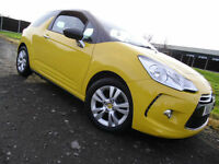 2011 CITROEN DS3 1.6 VTi AUTOMATIC DStyle YELLOW
