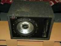 12 INCH SUBWOOFER IN PORTED BOX FOR SALE