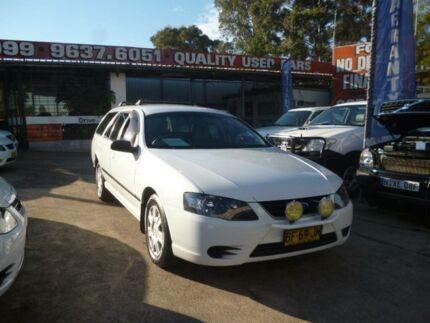 2010 Ford Falcon BF Mkiii XT White 4 Speed Auto Seq Sportshift Wagon Holroyd Parramatta Area Preview
