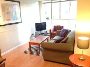 2 BEDROOM,FURNISHED,ROBSON ST,RENOVATED,DOWNTOWN,JUNE 1