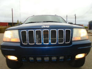 2002 Jeep Grand Cherokee LIMITED SPORT PKG-LEATHER-SUNROOF