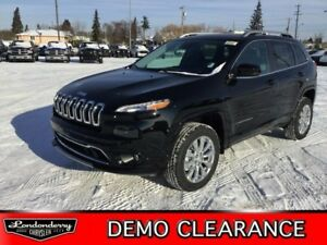 2018 Jeep Cherokee 4X4 OVERLAND              8.4 TOUCH SCREEN  H