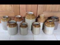 Old Stone Jars