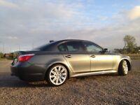 """BMW 525i M SPORT gunmetal grey 19"""" alloys stunning car"""