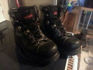Leather Harley Davidson Riding Boots