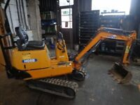 hanix h08b excavator digger