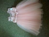 Flowergirl party occasion wear dress