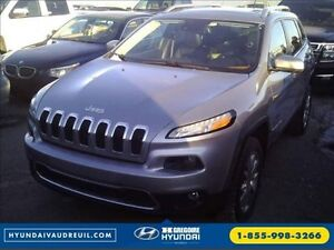 2014 Jeep Cherokee Limited GPS Pano Cuir-Chauf & Climatis  8Pneu