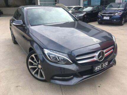 2015 Mercedes-Benz C300 W205 BlueTEC 7G-Tronic + HYBRID Grey 7 Speed Sports Automatic Sedan Hybrid