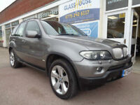 BMW X5 3.0d 4x4 auto 2004 Sport Full S/H ££££s of added extras 2 former keepers