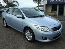 2008 Toyota Corolla ZRE152R Conquest Blue 6 Speed Manual Sedan Springwood Blue Mountains Preview