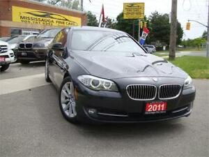 2011 BMW 5 Series 528i,NO ACCIDENT,LOCAL,LEATHER,SUNROOF