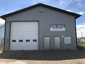 Commercial Shop for Lease in Dawson Creek, BC