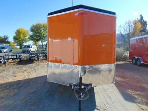 2016 Mirage 7X12 Custom V-Nose Toy Hauler w. Extra Height and Ra
