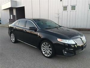 2009 LINCOLN MKS AWD NAVIGATION/ BACKUP/HEATED SEAT/ LEATHER