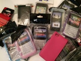Job lot of 50 mobile phone cases