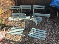 Garden Chairs - in need of TLC!