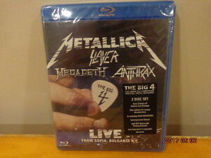 METALLICA,Slayer, Megadeth Anthrax LIVE in Bulgaraia:  Sealed!