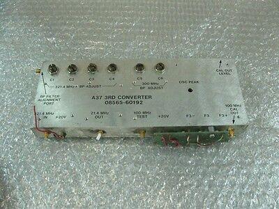 Hp Agilent 08565-60192 A37 3rd Converter Assy For Hp 8569b