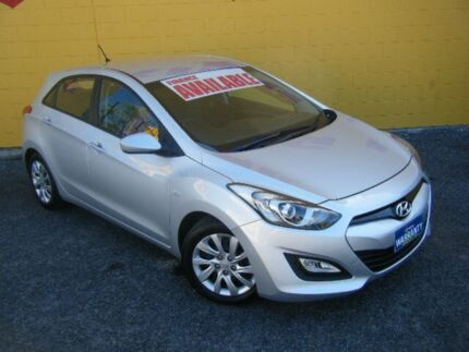 2013 Hyundai i30 GD ACTIVE Silver 6 Speed Automatic Hatchback Winnellie Darwin City Preview
