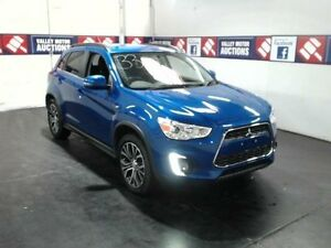2015 Mitsubishi ASX XB MY15.5 LS (2WD) Blue Continuous Variable Wagon Cardiff Lake Macquarie Area Preview