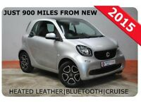 SMART FORTWO 1.0 PRIME 3 Door Hatchback LOW MILEAGE Special PCP (silver) 2015