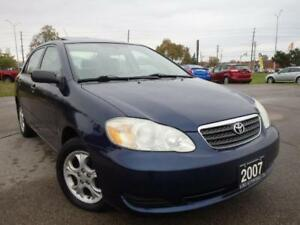 2006 Toyota Corolla CE, Accident Free, 97k Only, Certified