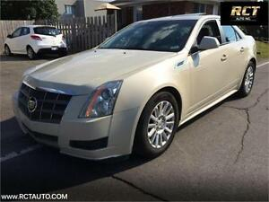 2010 cadillac cts 3.0 6 cyl FINANCEMENT MAISON