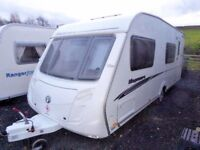 Swift Kingsmere 18ft 4/5/6 berth end fixed bunks,special edition. MINT