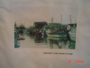 wall hanging of fishermans cove eastern passage N.S.