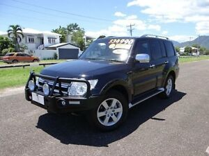2011 Mitsubishi Pajero NT MY11 Series II RX (4x4) Black 5 Speed Auto Sports Mode Wagon Bungalow Cairns City Preview