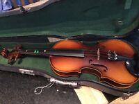 3/4 size stradivarius copy starter violin
