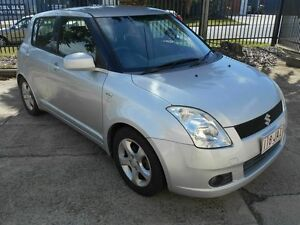 2005 Suzuki Swift RS415 Silver 5 Speed Manual Hatchback Kippa-ring Redcliffe Area Preview