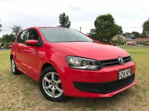 2012 Volkswagen Polo 6R MY13 77TSI DSG Comfortline Red 7 Speed Sports Automatic Dual Clutch Somerton Park Holdfast Bay Preview